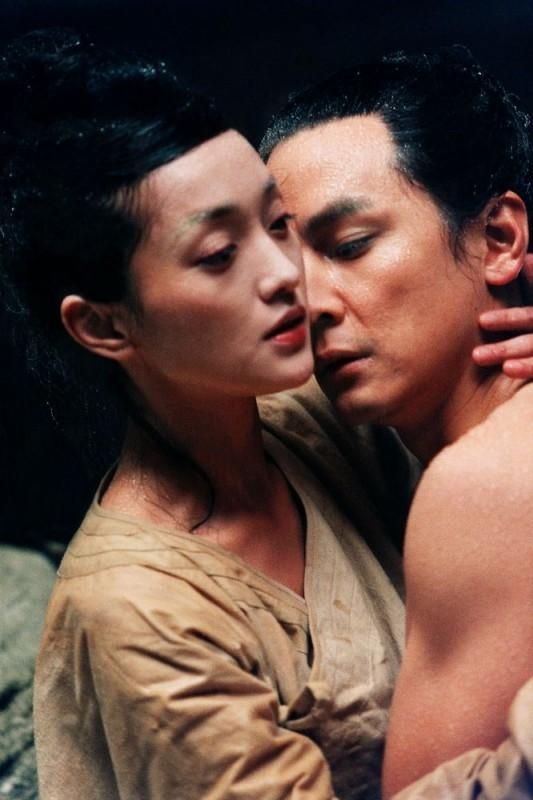 Zhou Xun e Daniel Wu in una scena del film The Banquet