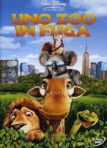 La copertina DVD di Uno zoo in fuga