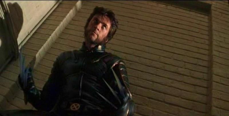 Hugh Jackman in una immagine di X-MEN