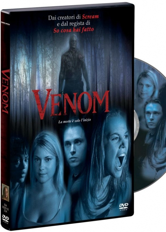 La copertina DVD di Venom
