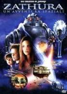 La copertina DVD di Zathura: un'avventura spaziale
