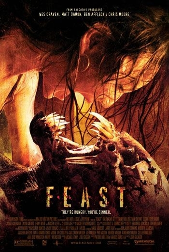 La locandina di Feast