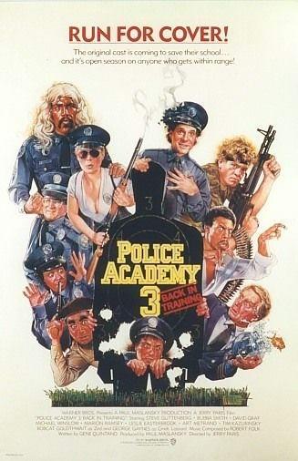 La locandina di Scuola di polizia 3: tutto da rifare