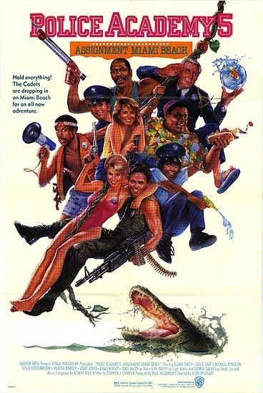 La locandina di Scuola Di Polizia 5: Destinazione Miami