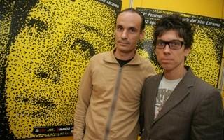 Locarno 2006 -  Francesco Garrido, attore e Julio D. Wallowits, regista del film LA SILLA