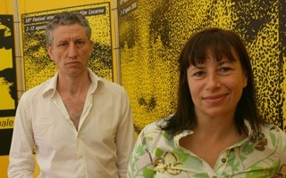 Locarno 2006 -  Serge Duveau, produttore e Isabelle Czajka, regista del film L'ANNÉE SUIVANTE