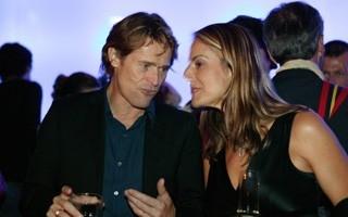 Locarno 2006 -  Willem Dafoe e Claudia Laffranchi al party CP Company