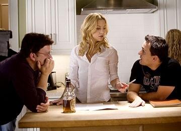 Anthony e Joe Russo con Kate Hudson sul set di Tu, io e Dupree