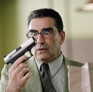 Eugene Levy nel film The Man - La Talpa