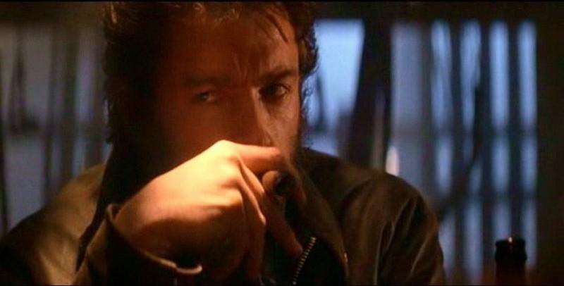Hugh Jackman in una scena del film X-MEN