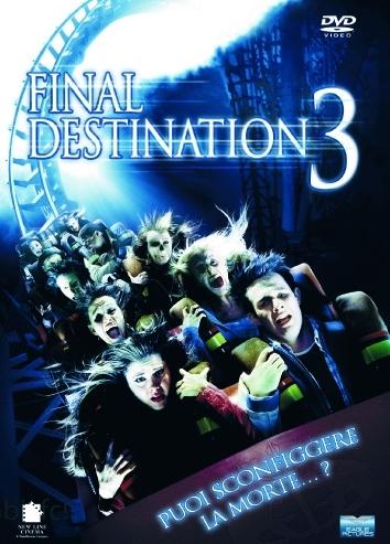 La copertina DVD di Final Destination 3