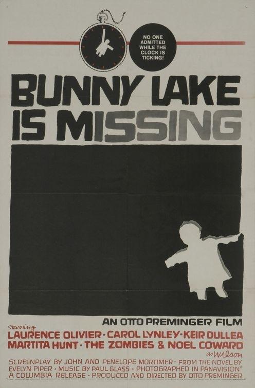 La locandina di Bunny Lake è scomparsa