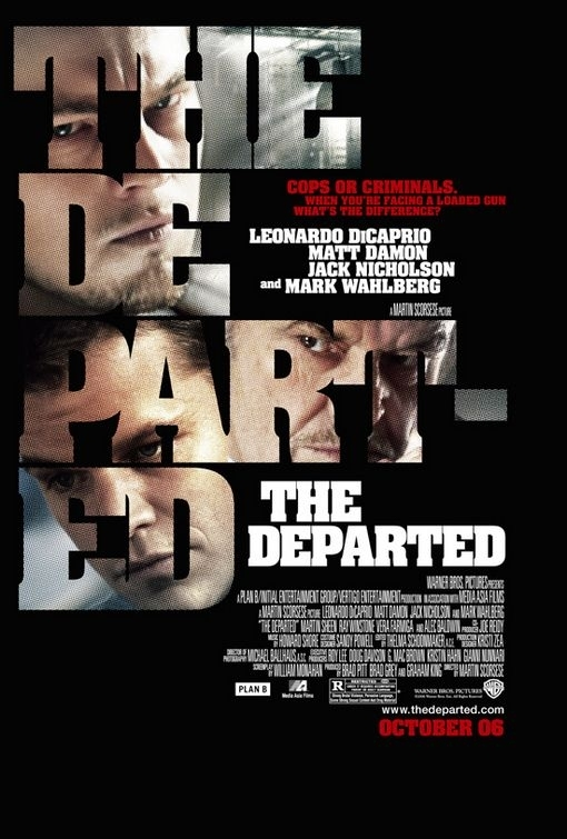 La locandina di The Departed