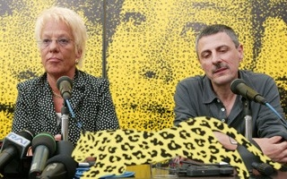 Locarno 2006 -  Conferenza stampa LA LISTE DE CARLA, Carla del Ponte e Marcel Schüpbach