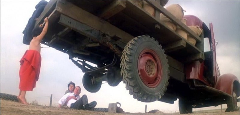 Aaron Smolinski, Glenn Ford e Phyllis Thaxter in una scena di SUPERMAN