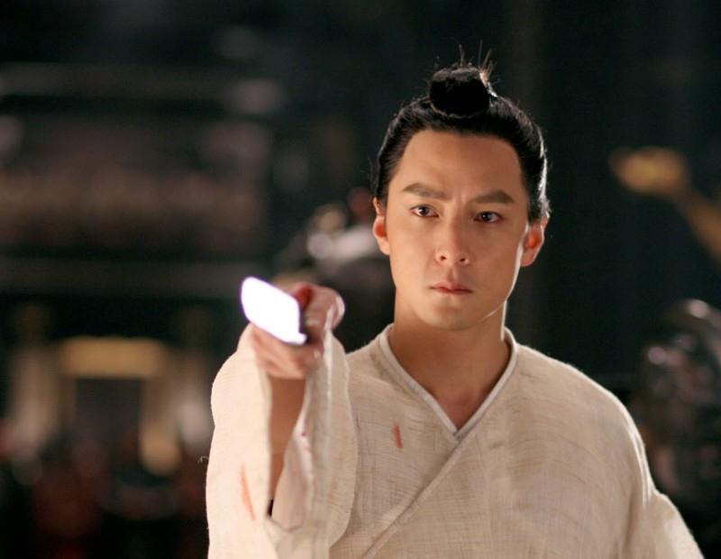 Daniel Wu in una scena del film The Banquet