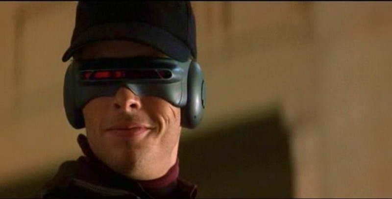 James Marsden in una scena di X-MEN