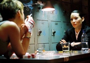 Keira Knightley e Lucy Liu in Domino