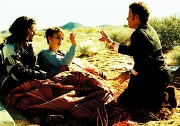Keira Knightley, Tom Waits ed Edgar Ramirez in Domino