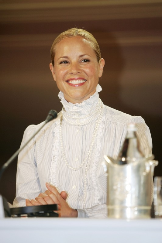 Maria Bello a Venezia 2006 per presentare World Trade Center