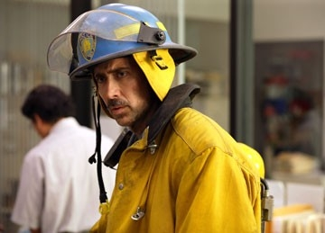 Nicolas Cage in World Trade Center