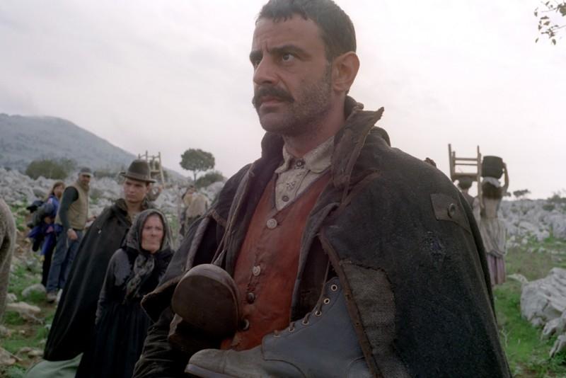 Uno dei protagonisti del film Nuovomondo