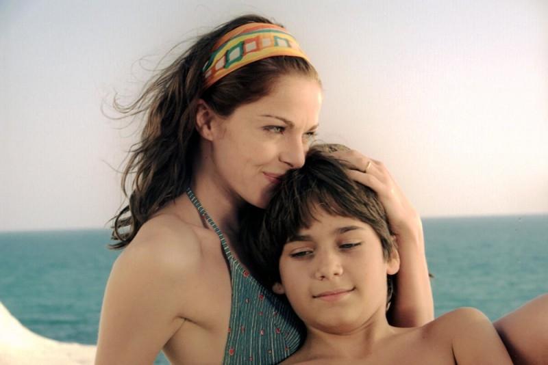 Claudia Gerini in una scena del film Viaggio segreto