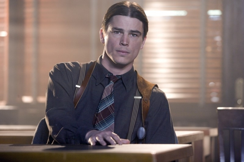 Josh Hartnett in una sequenza di The Black Dahlia