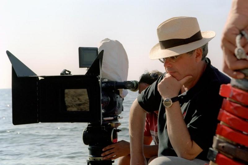 Roberto Andò sul set del film Viaggio segreto