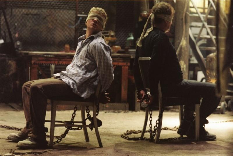 Ryan Phillippe e Colm Meaney in una scena del film Five Fingers