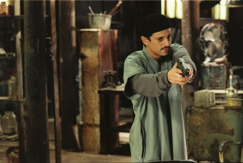 Saïd Taghmaoui in una scena del film Five Fingers