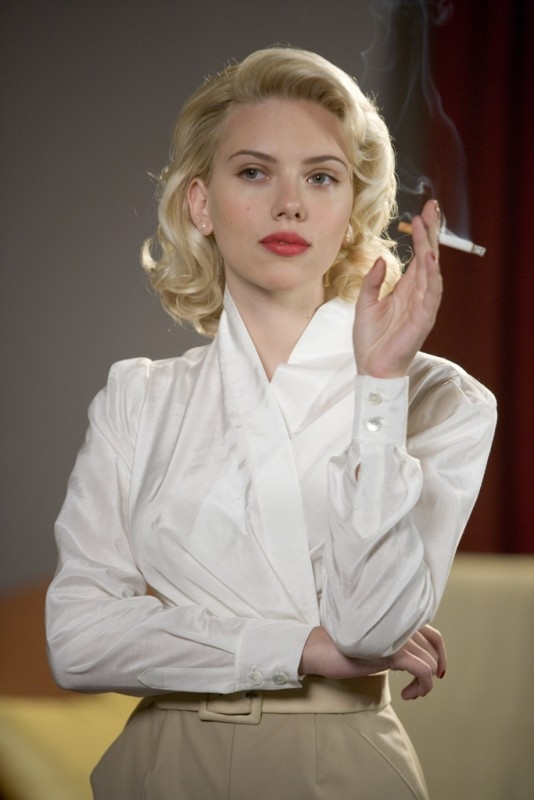 Una seducente Scarlett Johansson in una scena di The Black Dahlia