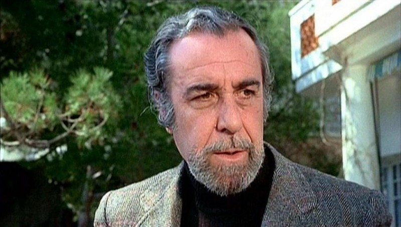 Fernando Rey in una scena del film IL BRACCIO VIOLENTO DELLA LEGGE