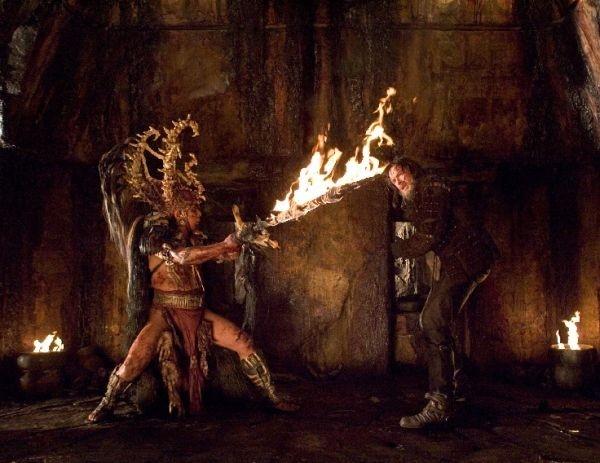 Hugh Jackman in una scena di The Fountain di Darren Aronofsky