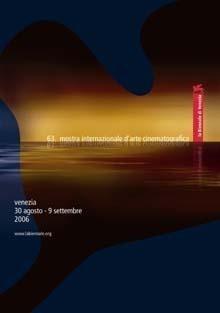Il manifesto della Mostra del Cinema di Venezia 2006