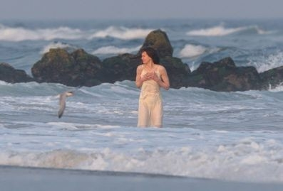 Nicole Kidman sul set del film Fur: un ritratto immaginario di Diane Arbus