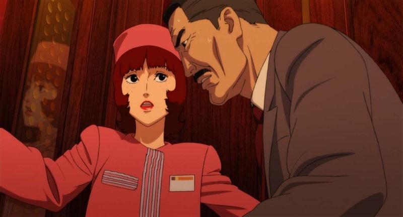 Una sequenza del film d'animazione Paprika