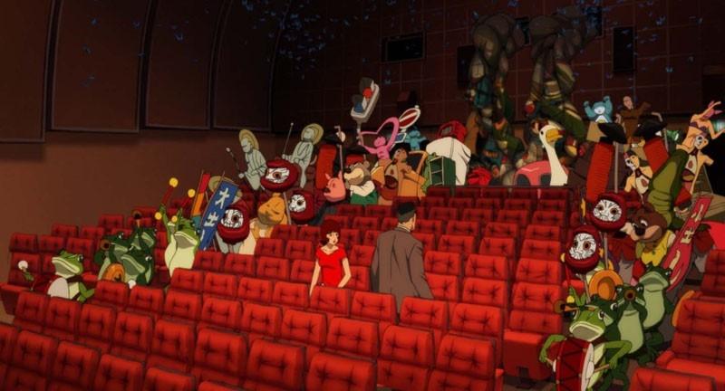 scena del cartoon Paprika