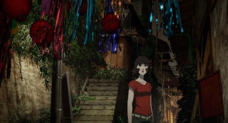 sequenza del film d'animazione Paprika