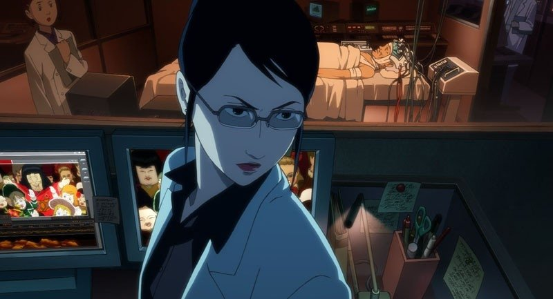 Una immagine del film d'animazione Paprika, del 2006