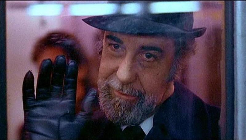 Fernando Rey in una scena di IL BRACCIO VIOLENTO DELLA LEGGE