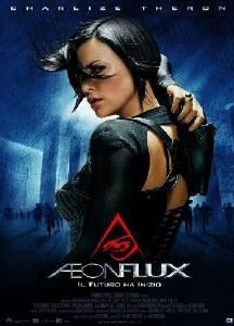 La copertina DVD di Aeon Flux
