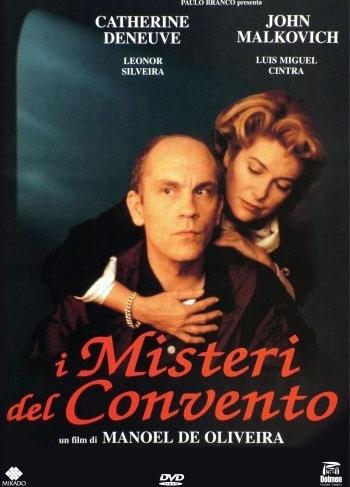 La copertina DVD di I misteri del convento