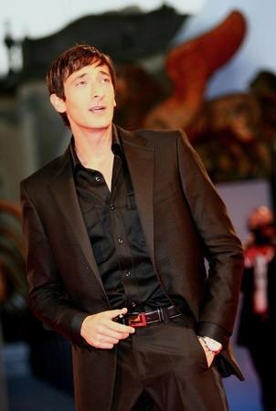Adrien Brody a Venezia nel 2006 per presentare Hollywoodland