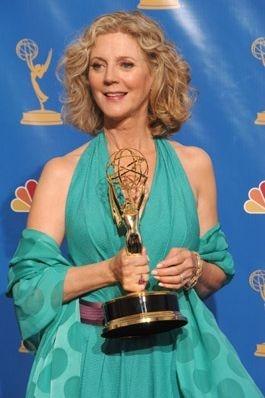 Blythe Danner con il suo Emmy