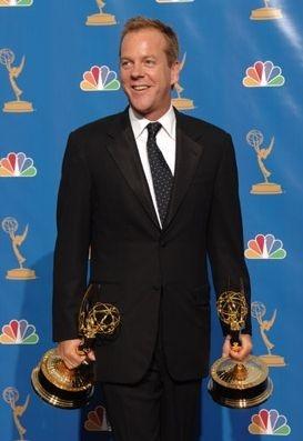 Kiefer Sutherland premiato con l'Emmy alla quinta nomination