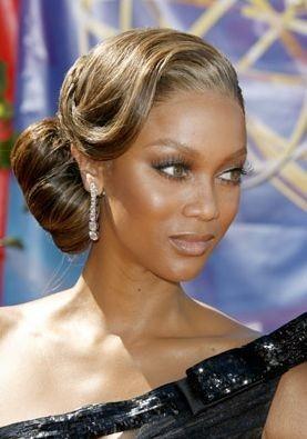 Tyra Banks sul red carpet degli Emmy 2006