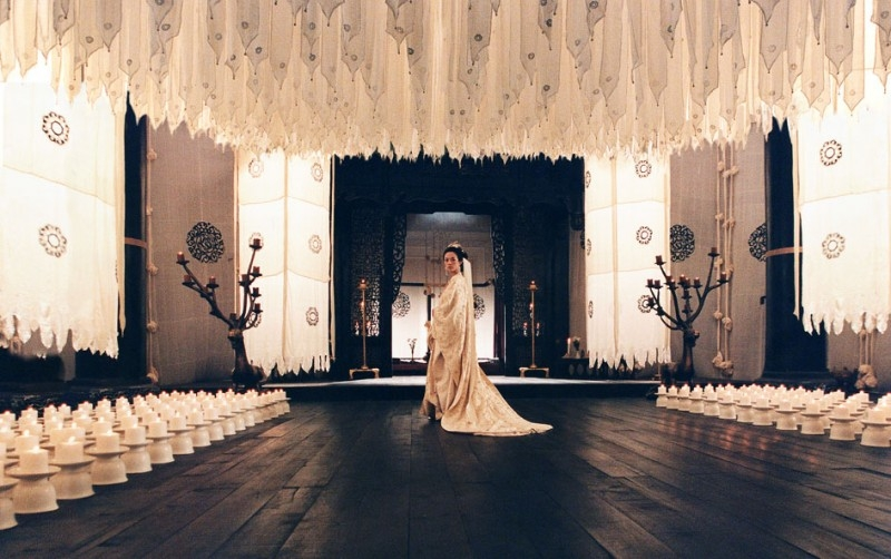 Una bella scena del film The Banquet
