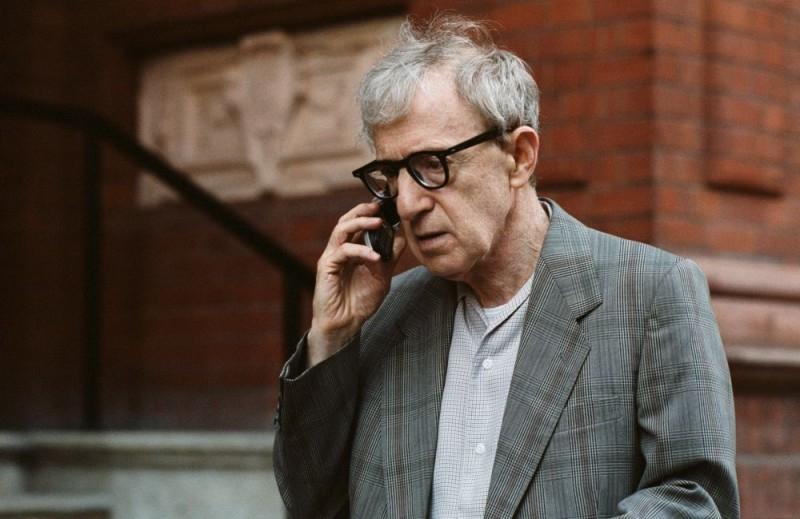 Woody Allen in una scena di Scoop