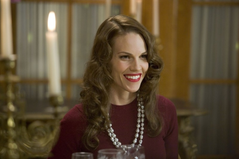 Hilary Swank in una sequenza del film The Black Dahlia